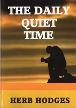 daily quiet time - herb hodges