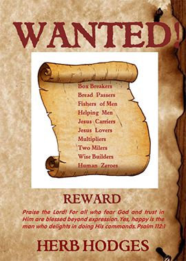 gods wanted list - herb hodges