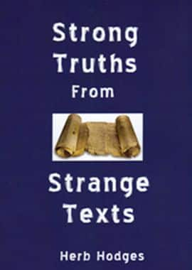 strong truths from strange texts - herb hodges